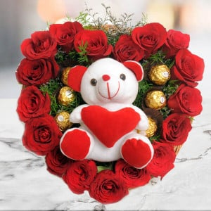Love Combo - Send Flowers to Dehradun
