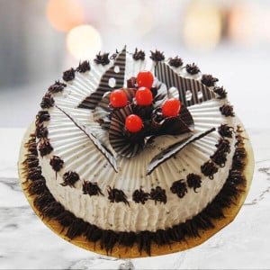Online Cherry Chocolate Truffle Cake - Send Cakes to Sonipat