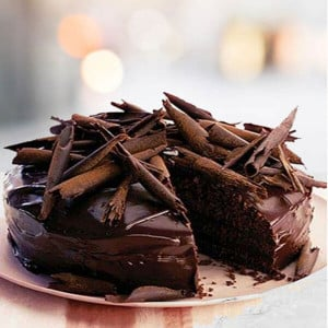 Online Chocolate Truffle Dark Cake