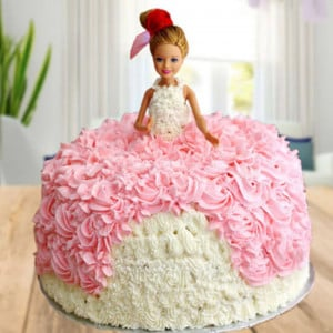 Princess Barbie Doll Cake - Cake Delivery in Mumbai