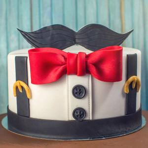 Gentleman Designer Chocolate Cake