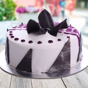 Blueberry Cake - Send Wedding Cakes Online
