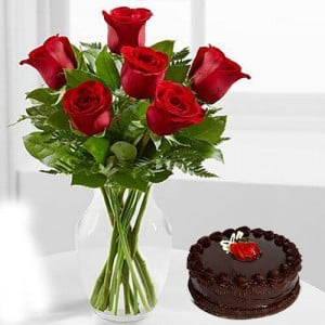 Cute Love - Send Flowers to Dehradun