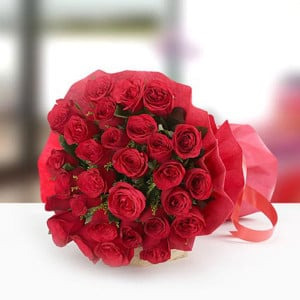 Pure Love Hamper 30 Red Roses - Online Flower Delivery In Kurukshetra