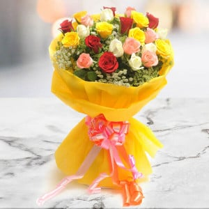 Bright Mix - Send Flowers to Dehradun