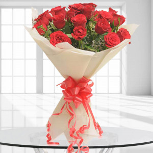 20 Red Roses - Send Flowers to Dehradun