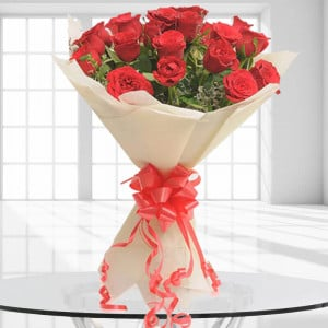 20 Red Roses - Send Flowers to Amreli Online