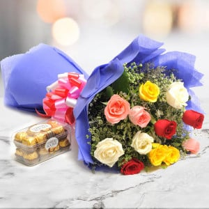 Simple Mix Emotions - Online Flower Delivery In Kurukshetra