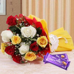 Colour Blast - Online Flower Delivery In Kurukshetra