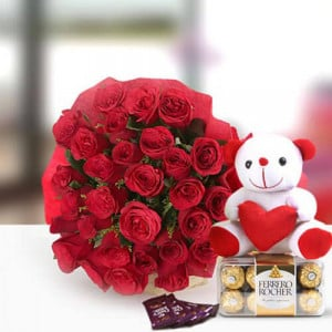 Perfect N Lovely - online flowers delivery in dera bassi
