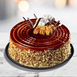 Coffee Walnut Cake - Online Cake Delivery in Kurukshetra