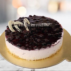 Blueberry Cheese Cake - Send Wedding Cakes Online