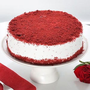 Red Velvet Cake 1kg - Cake Delivery in Mumbai