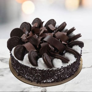 Chocolate Oreo Cake 1kg - Cake Delivery in Mumbai