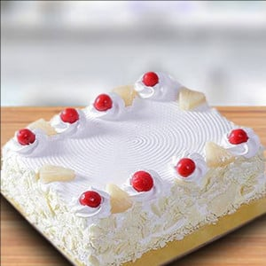 Sweet Pineapple Jinx Cake Half Kg - Cake Delivery in Mumbai