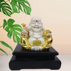 Feng Shui Laughing Buddha Idol