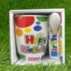 Happy Birthday Ceramic Mug - Send Gifts to Panchkula Online