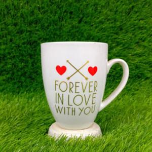 Forever in Love Ceramic Mug - Send Gifts to Panchkula Online