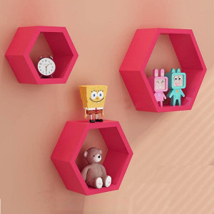 Pink Diamond Separator Wall Shelf