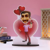 Customised Lover Boy Caricature
