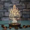 Personalised Maa Saraswati Led Lamp