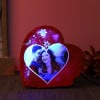 Personalised Heartshaped Led Lamp For Couples