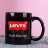 Personalised Black Mug