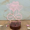 Personalised Shimmering LED lamp