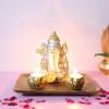 Ganesha In A Wooden Tray