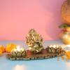 Ganpati Decorative T Light Holder