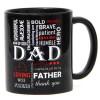Bold Black Ceramic Mug