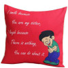 Red Cushion For Sister