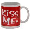 Kiss Me Ceramic Mug