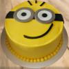 Hello Minion Cake