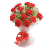 Delight 12 Red Carnations