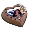 Heart Shape Photo Coffee Cake