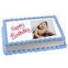 1kg Photo Cake Vanilla Sponge - Birthday Cake Online Delivery