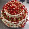 2 Layer Strawberry Cake (2 Kg)