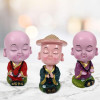 Set of 3 Buddha Monks