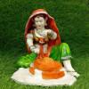Rajasthani Lady Grinding Showpiece