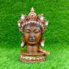 Crown Buddha Brown Head Statue
