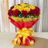 Big Hug 50 Red Yellow Roses