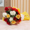 Colorful Hue 10 Mix Roses Online