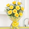 Yellow Delights 10 Roses Online