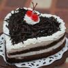 Heart Shape Black Forest Loved Cake