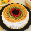Pineapple And Fruits Cake Half Kg