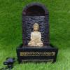 Monk Buddha Water Fountain Indoor