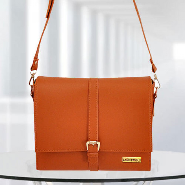 AP Scarlett Tan Color Bag