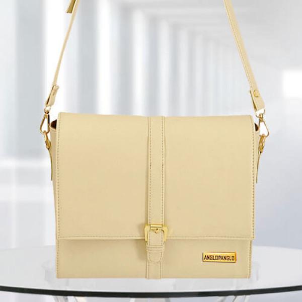 AP Scarlett Cream Color Bag