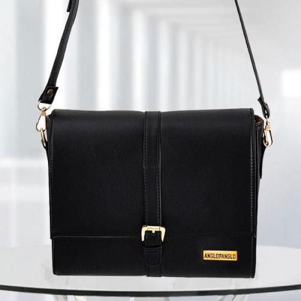 AP Scarlett Black Color Bag